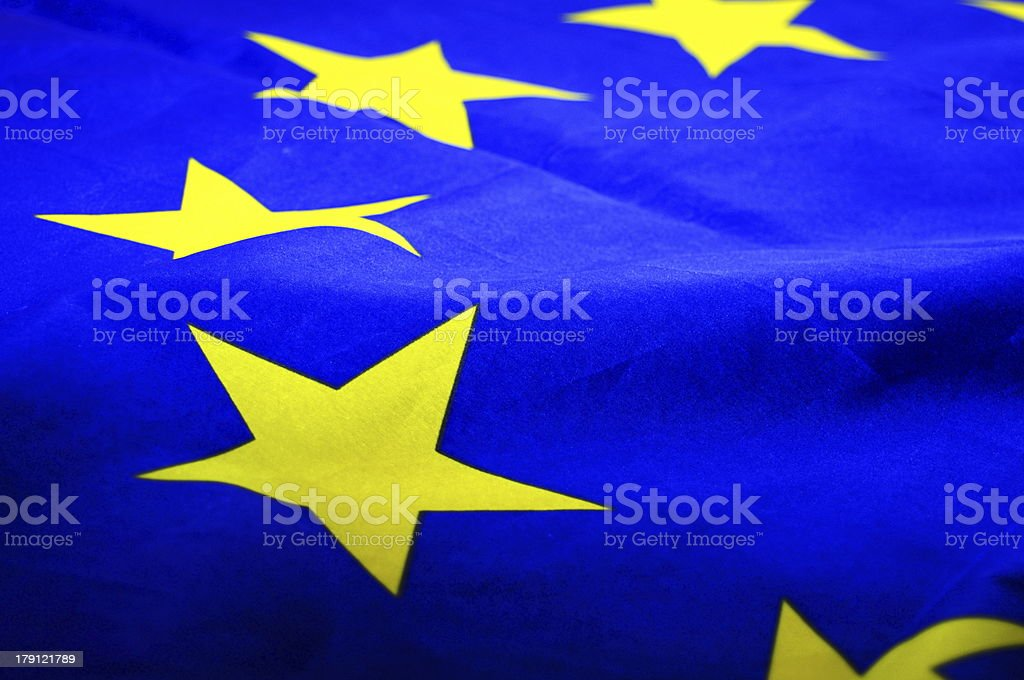 eu or european union flag stock photo