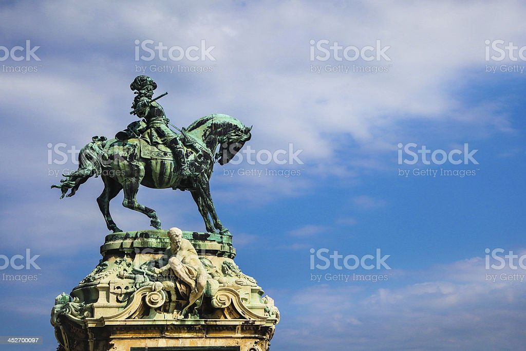 Eugene of Savoy monument royalty-free stock photo