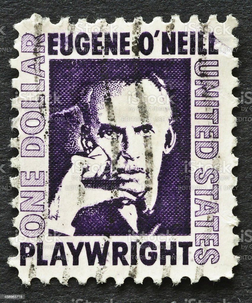 Eugene O'Neill Stamp royalty-free stock photo