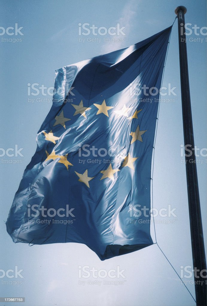 Euopean Flag royalty-free stock photo