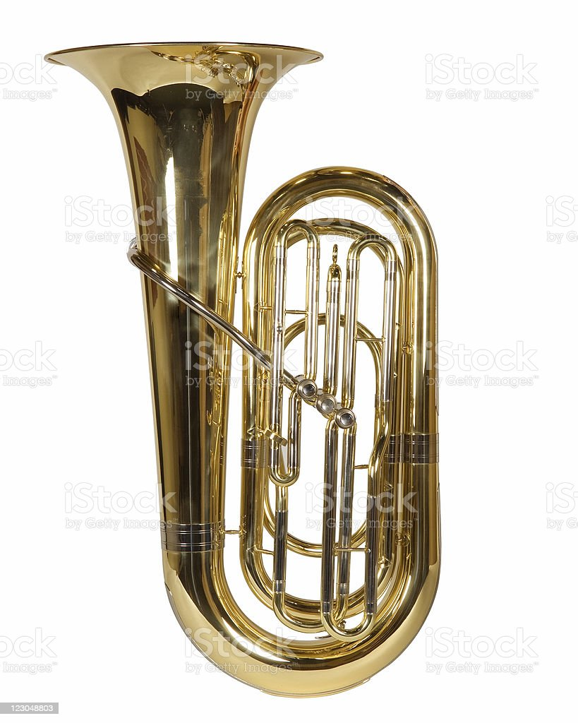 Euphonium royalty-free stock photo