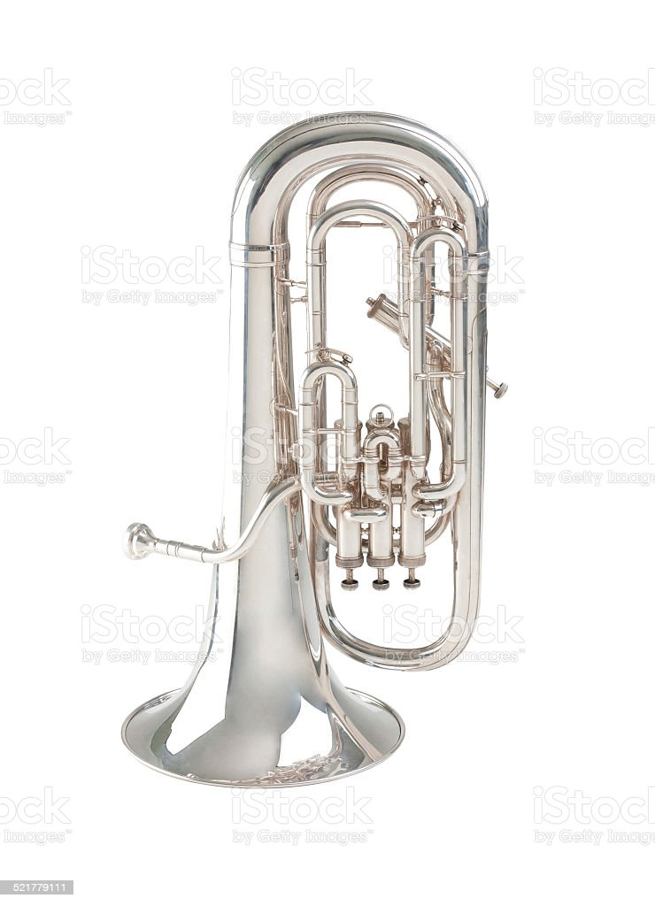 Euphonium stock photo