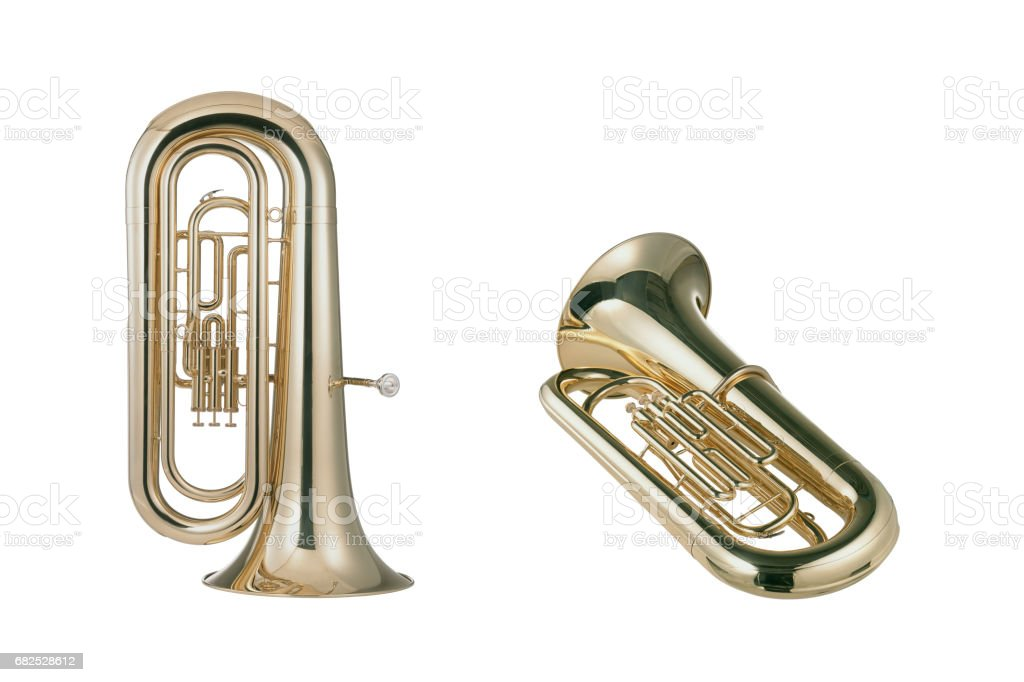 Euphoniums stock photo