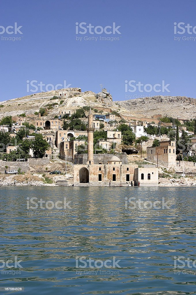 Euphrates River royalty-free stock photo