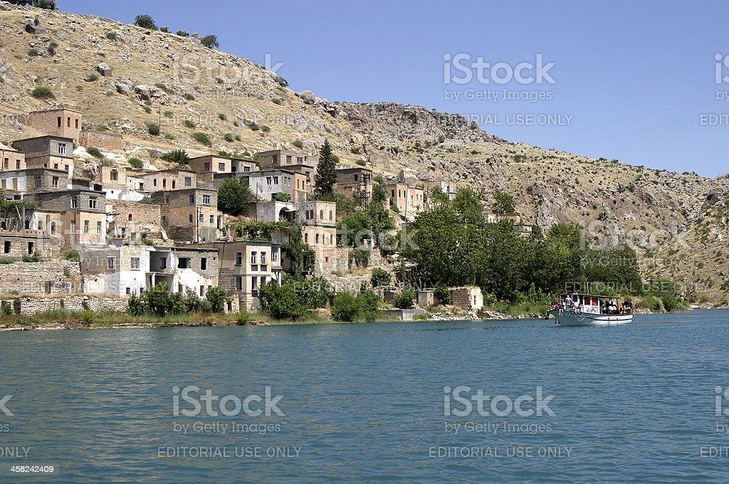 Euphrates River royalty-free stock photo