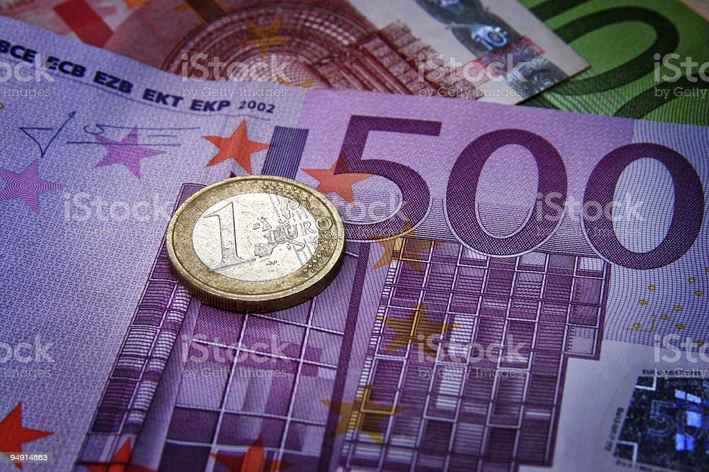 Eur Money royalty-free stock photo