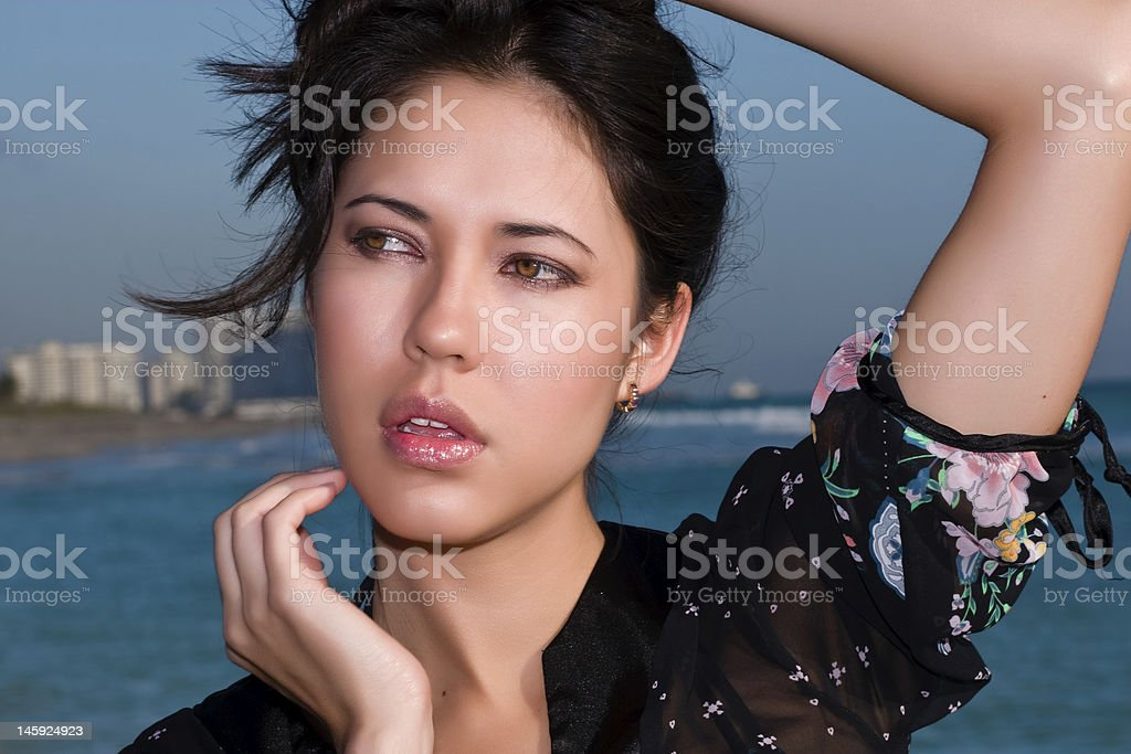 Eurasian Beauty stock photo