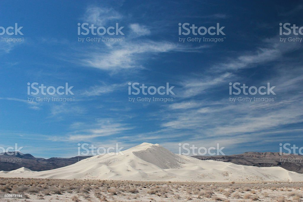 Eureka Dunes stock photo