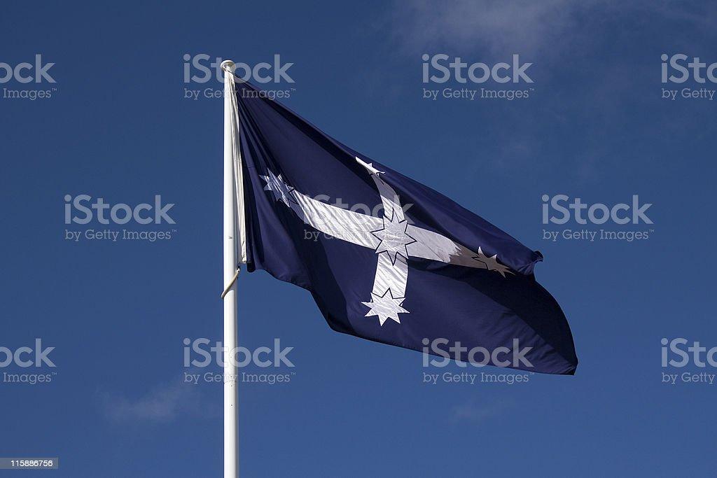 Eureka Flag stock photo