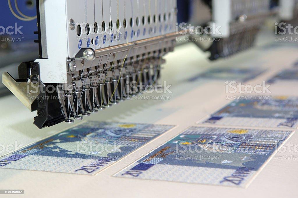 Euro 20 stock photo