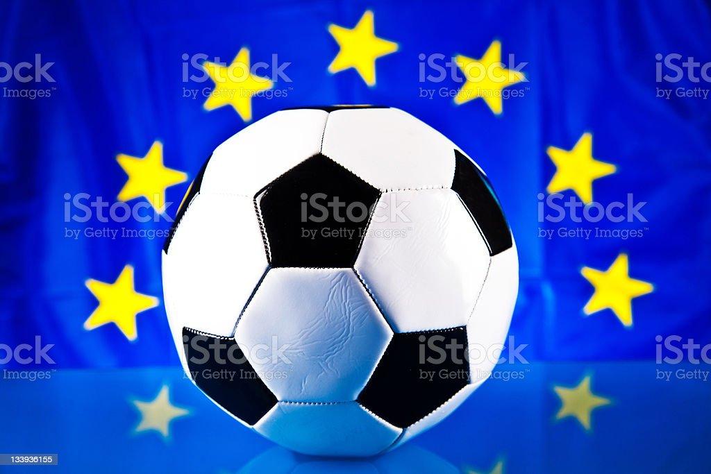 euro 2012 football cap royalty-free stock photo