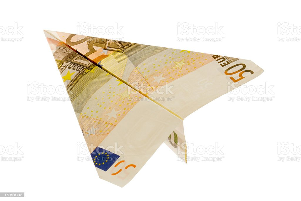 Euro - Banking Left stock photo