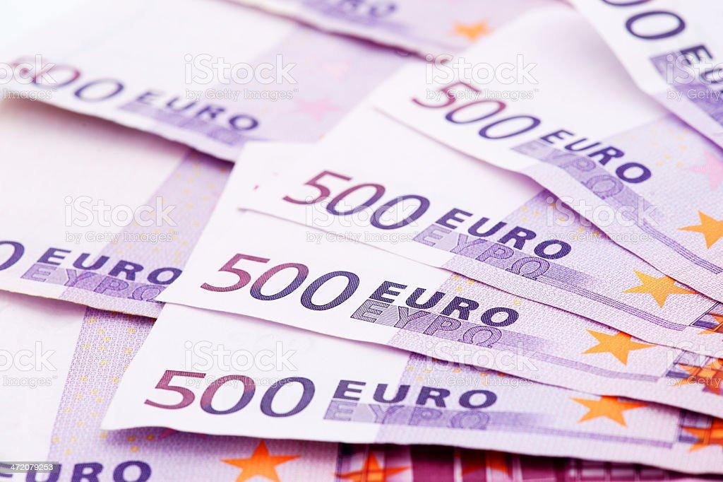 500 Euro banknotes royalty-free stock photo