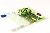100 Euro banknotes