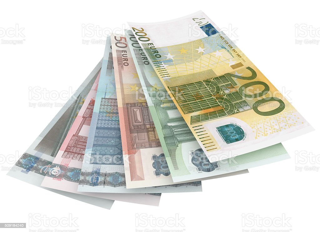 euro cash stock photo