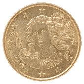 euro cent coin