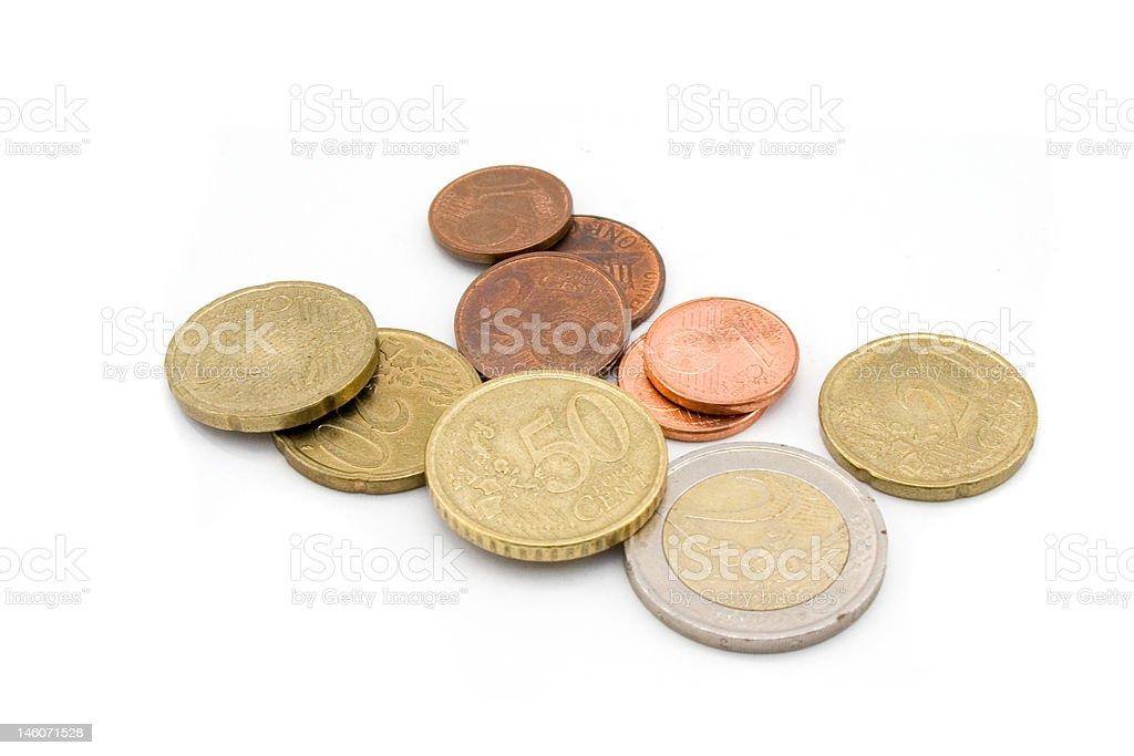 euro-Münzen Lizenzfreies stock-foto