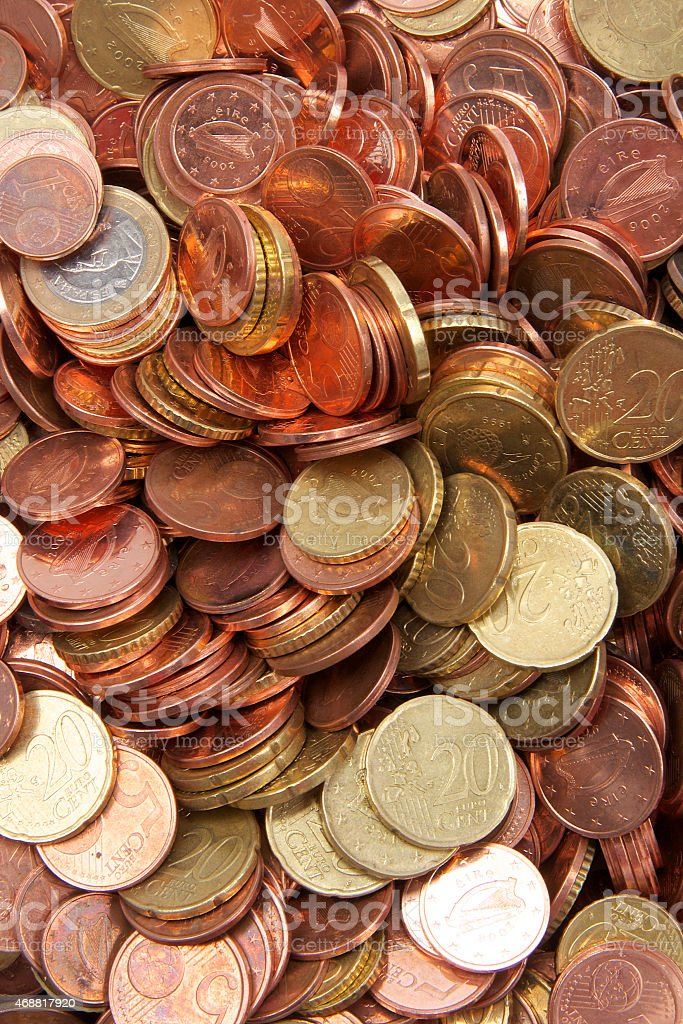 Euro Coins. stock photo