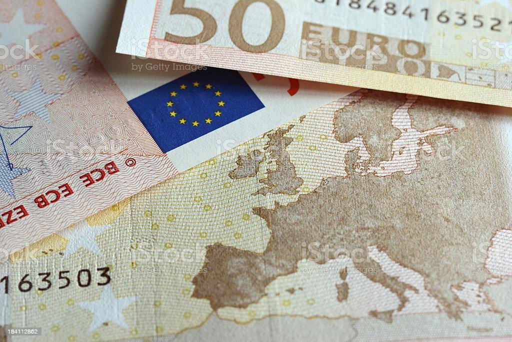 Euro concept royalty-free stock photo