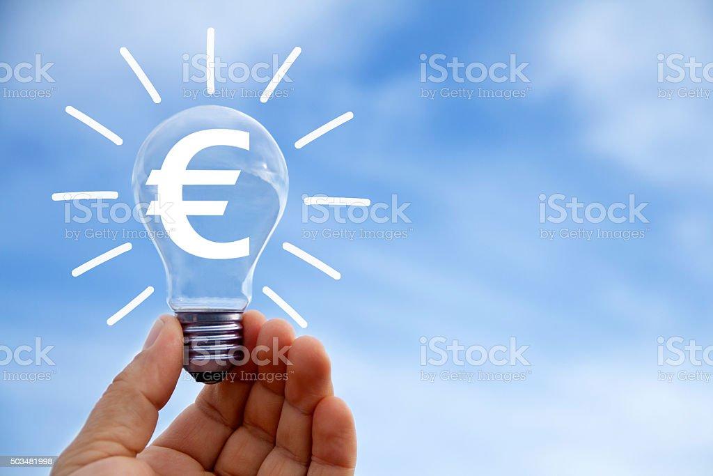 Euro concept stock photo