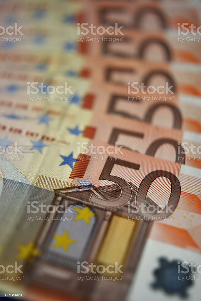 Euro Curency royalty-free stock photo
