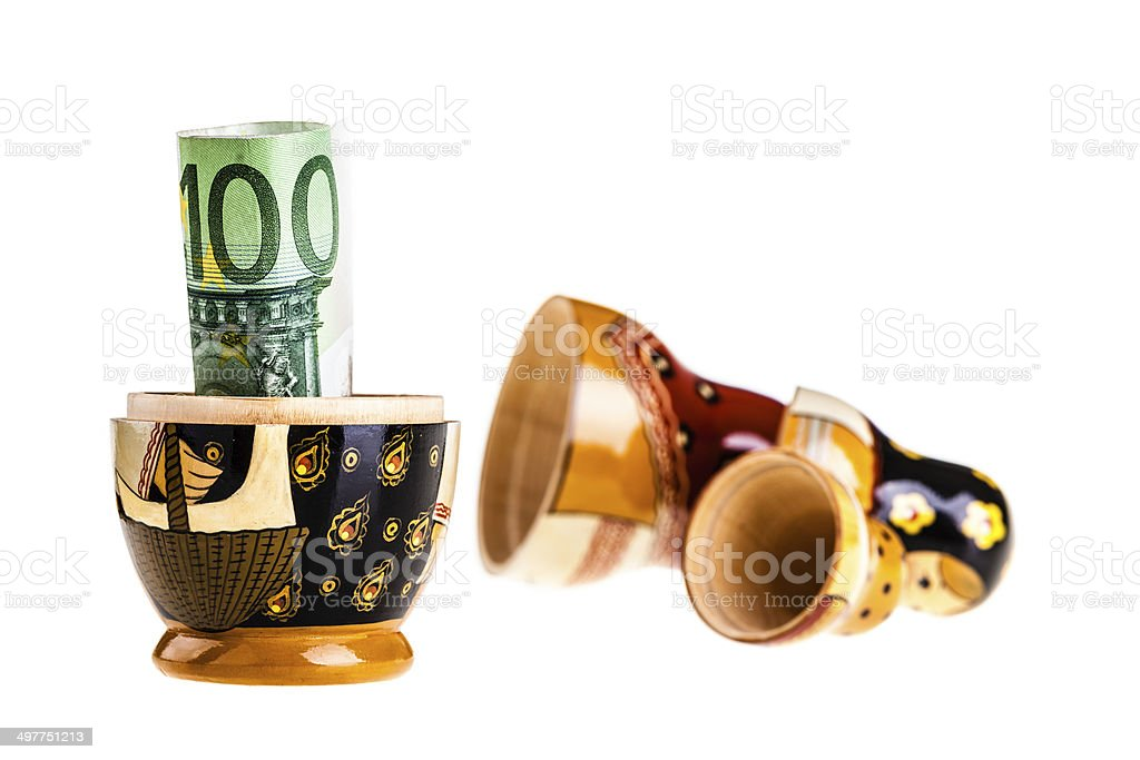 Euro discovery royalty-free stock photo