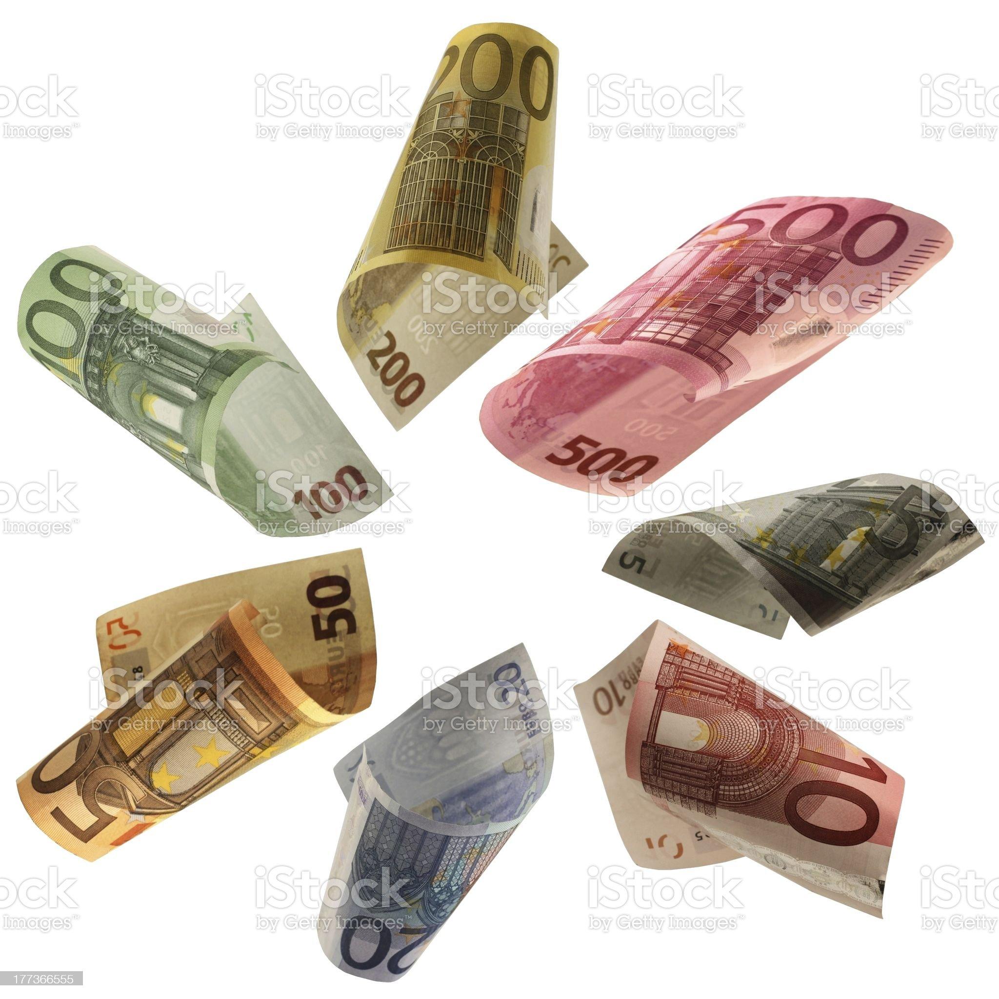 Euro - European Money royalty-free stock photo