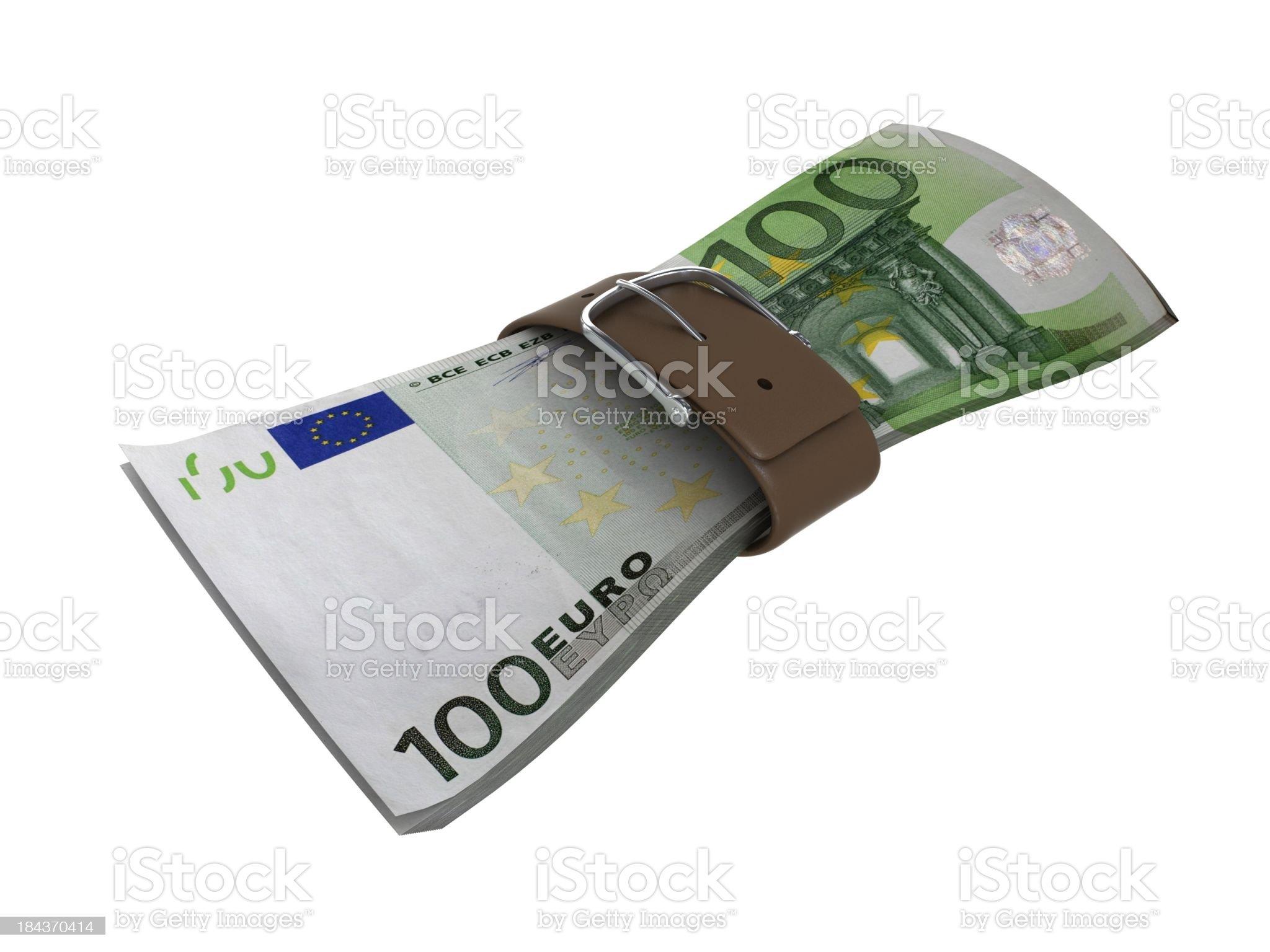 Euro Financial Crisis royalty-free stock photo