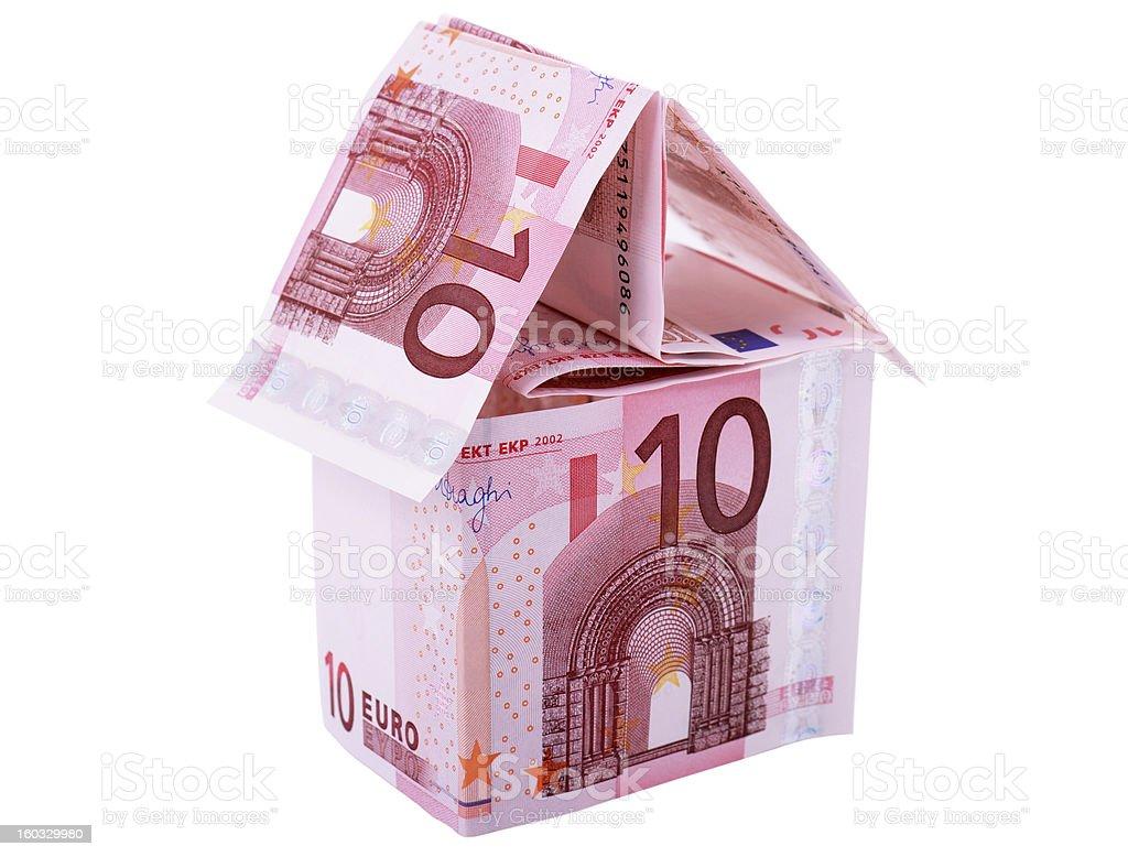 euro house royalty-free stock photo