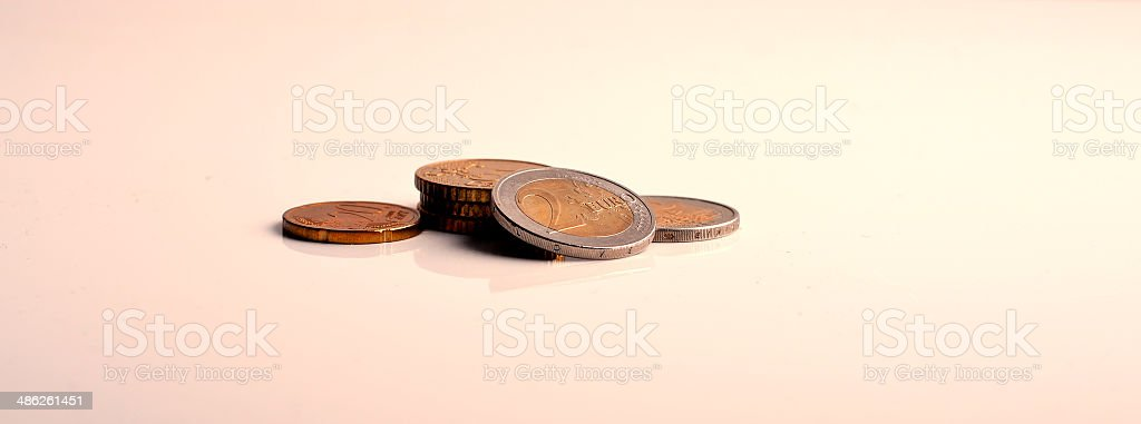 euro love royalty-free stock photo