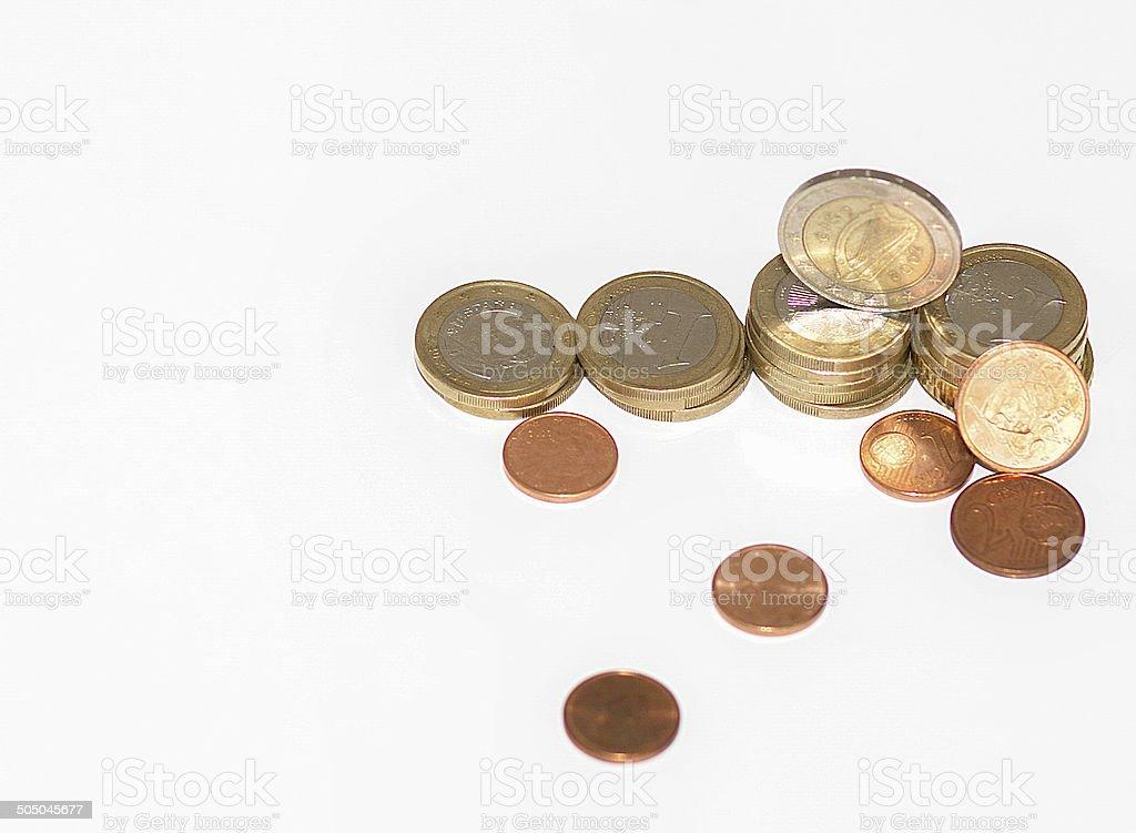 Euro Money, coins stock photo
