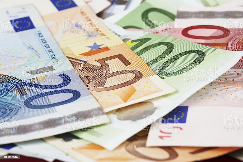 Euro money royalty-free stock photo