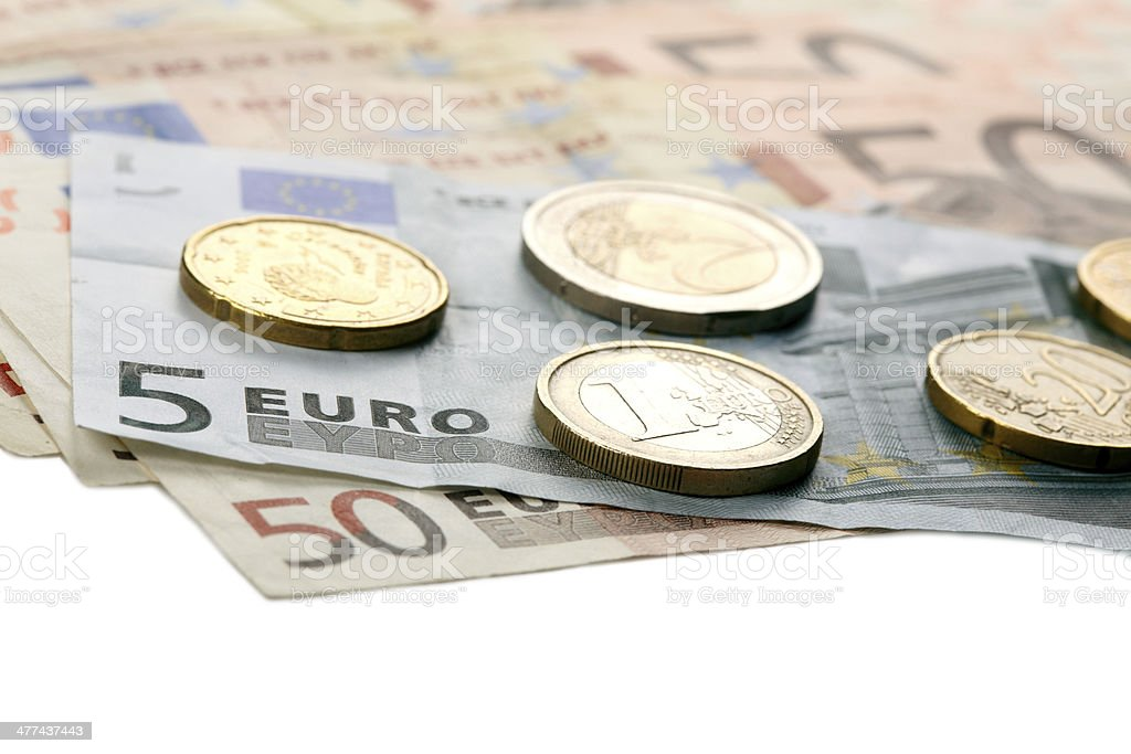 Euro money royalty-free stock photo