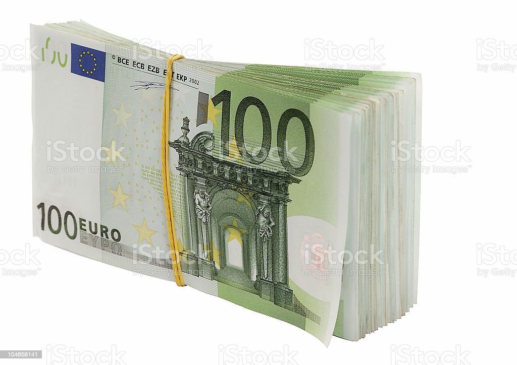 Euro. royalty-free stock photo