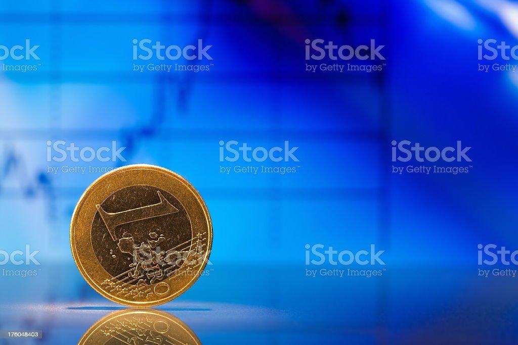 Euro (European Union Currency) royalty-free stock photo
