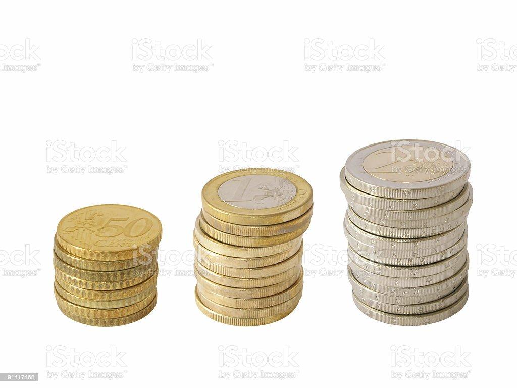 Euro Podium royalty-free stock photo