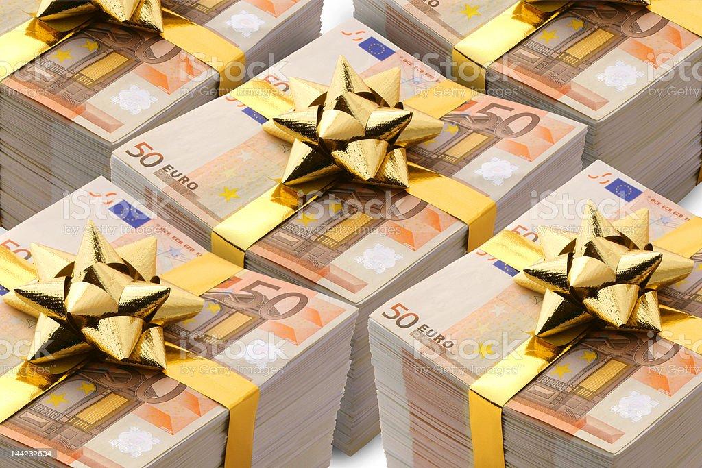 Euro - present royalty-free stock photo