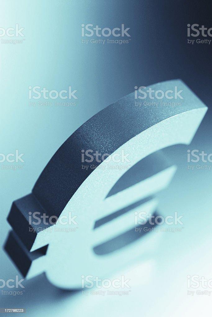 Euro Sign royalty-free stock photo