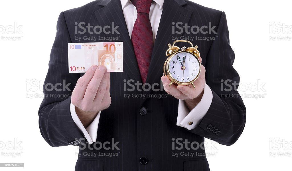 euro time stock photo