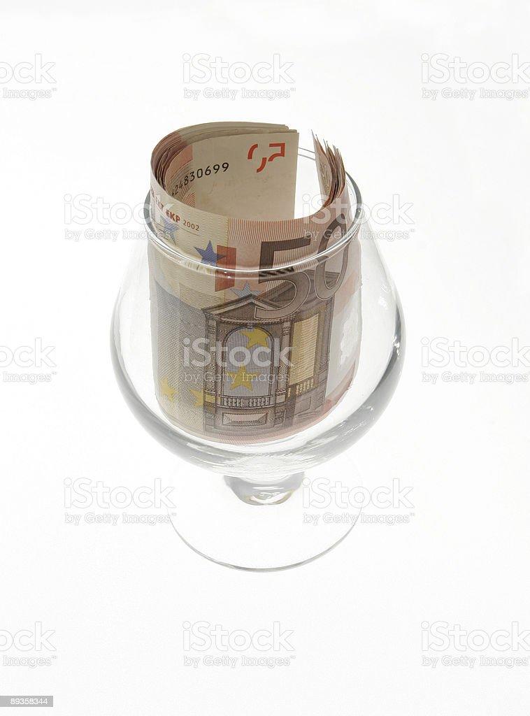 Euro Tip stock photo