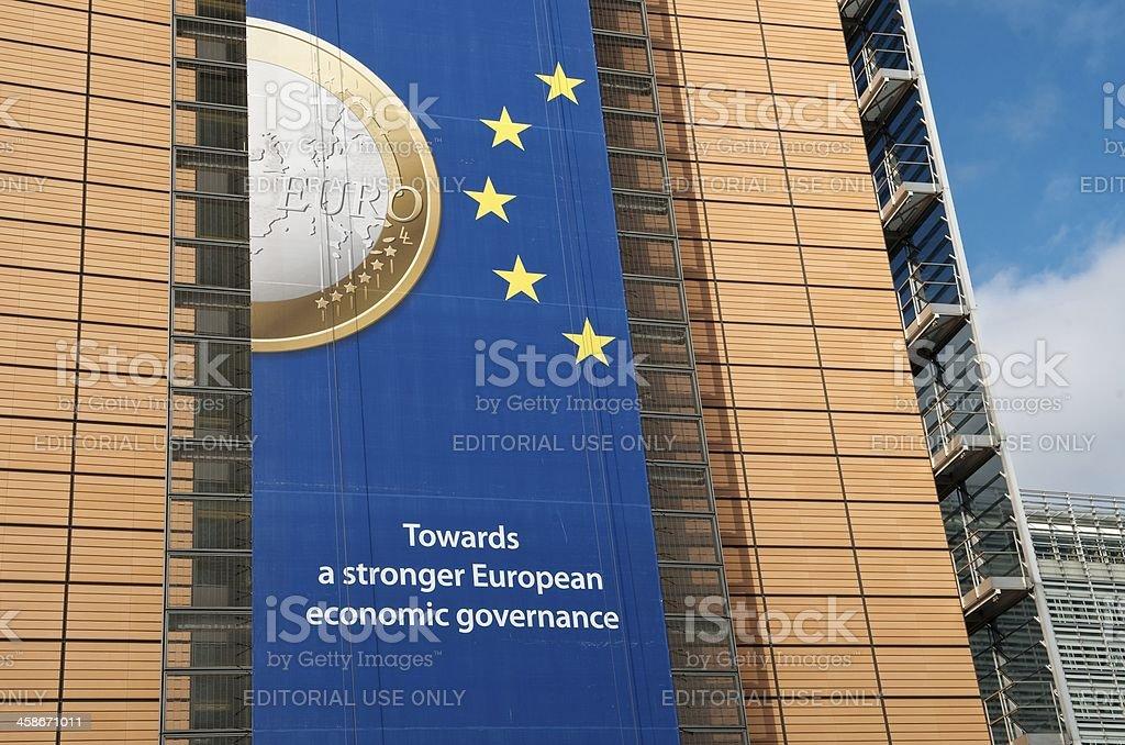 Euro: Towards a stronger European economic governance stock photo