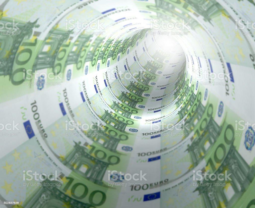 Euro Tunnel stock photo