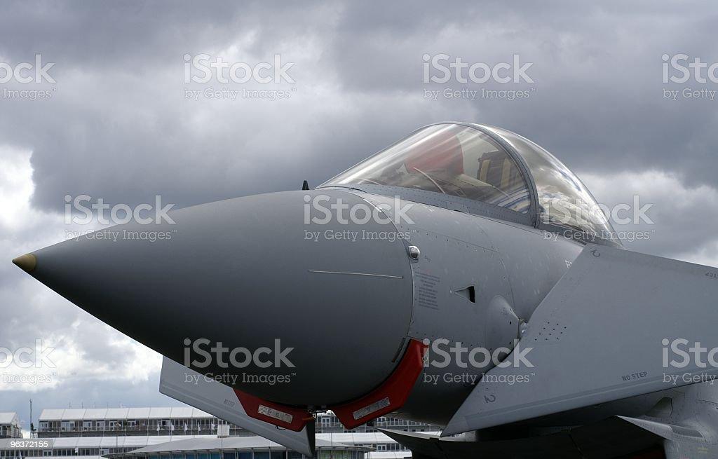 Eurofighter Cockpit stock photo