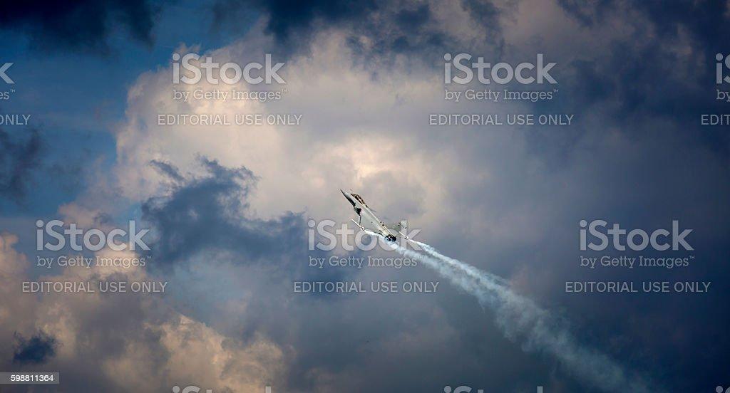 Eurofighter stock photo