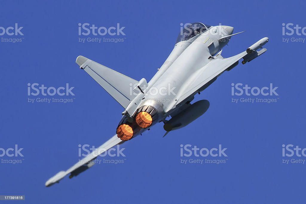 Eurofighter Typhoon Aircraft stock photo