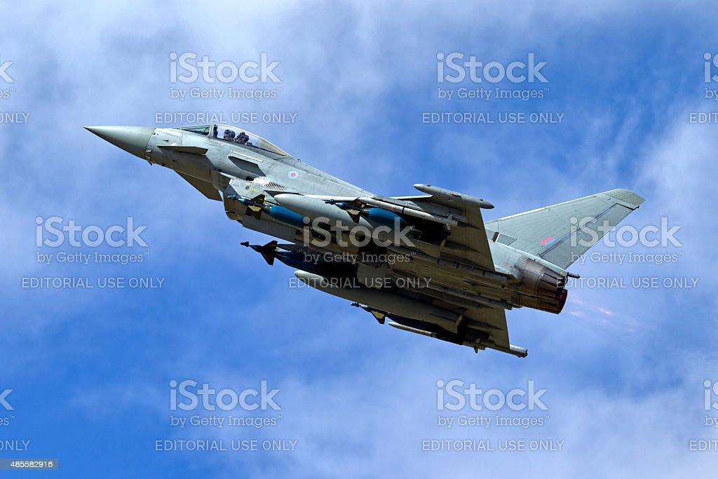 Eurofighter Typhoon IPA5 ZJ700 stock photo