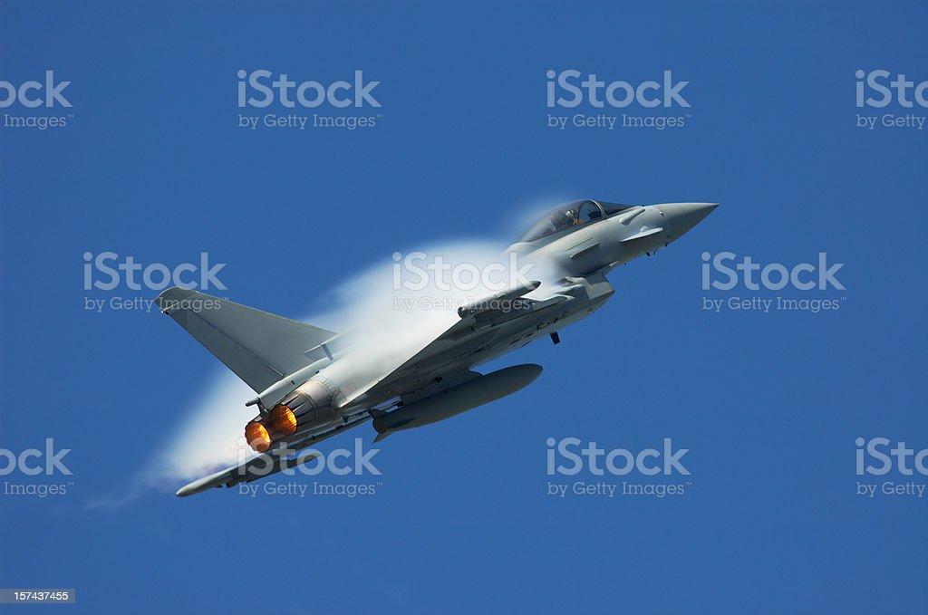 Eurofighter Typhoon stock photo