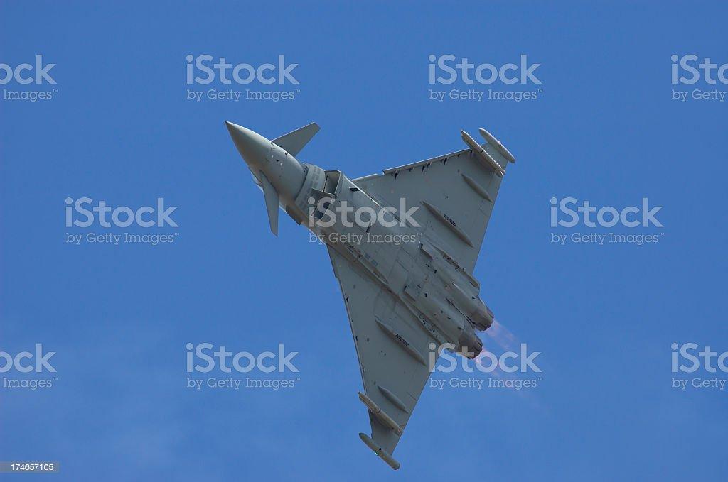 Eurofighter Typhoon royalty-free stock photo
