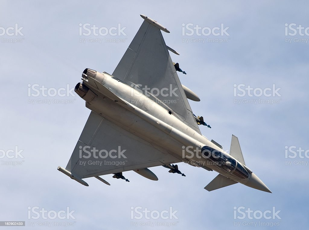 Eurofighter Typhoon royalty-free stock photo