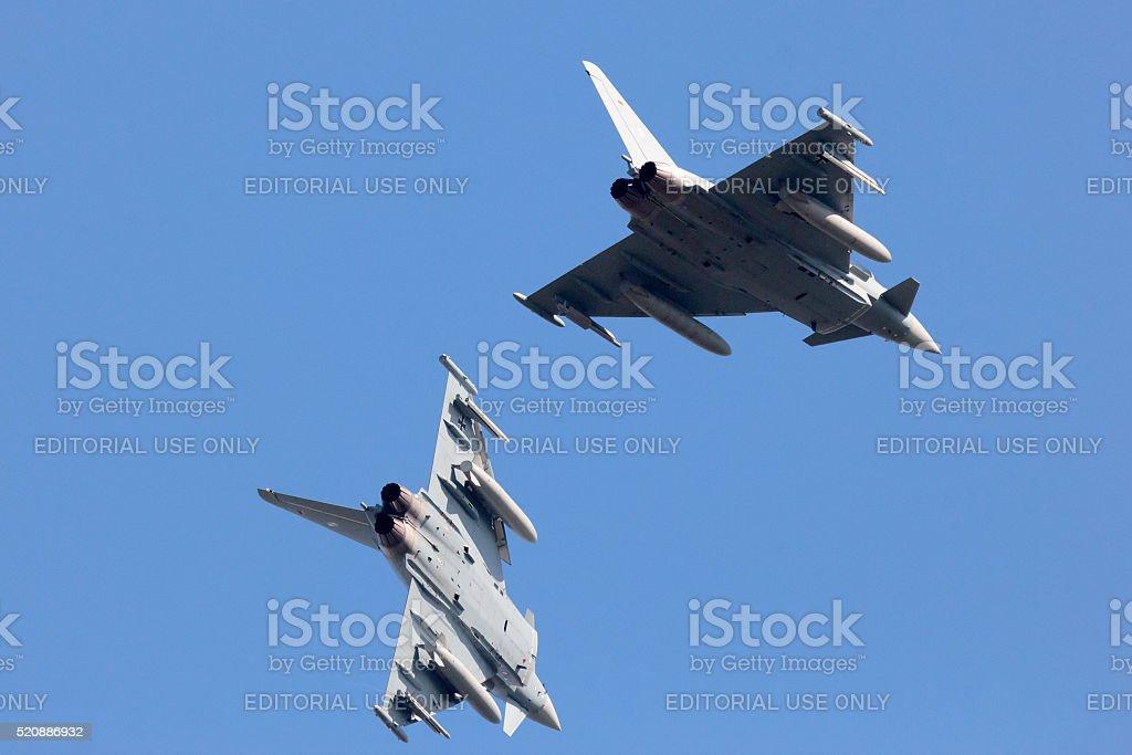 EF2000 Eurofighter Typhoon stock photo